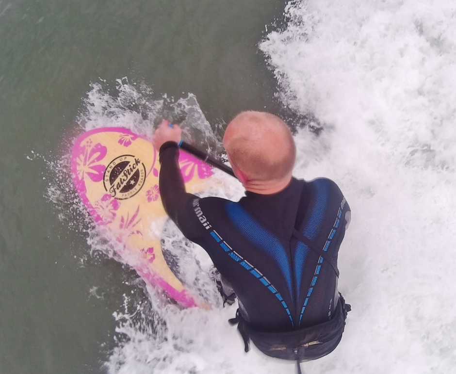 Fatstick Pink Panther 10ft SUP Mag UK test