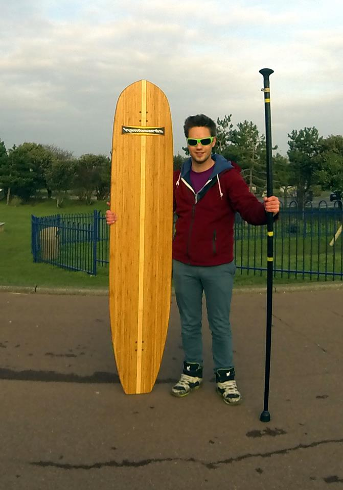 Tim Norris and his Hamboards Classic
