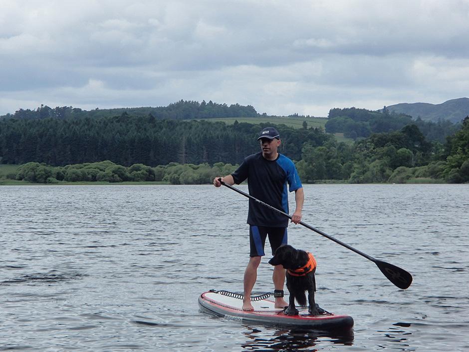 paddling blind