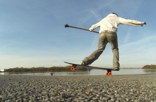 land paddling