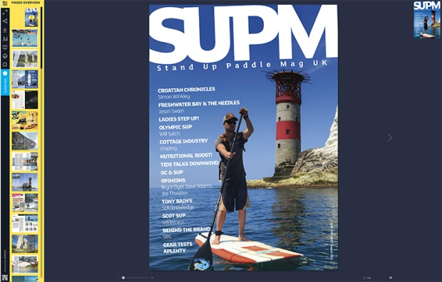 SUP Mag UK August 2017 issue