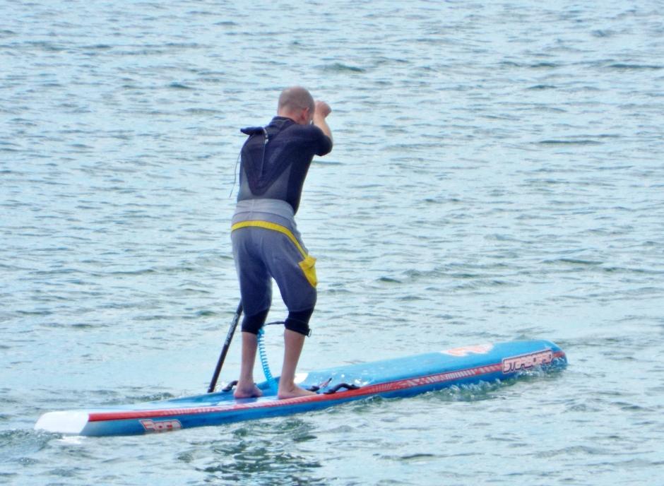 Jim Jackson Starboard SUP Tiki Tour Hayling Island 2015