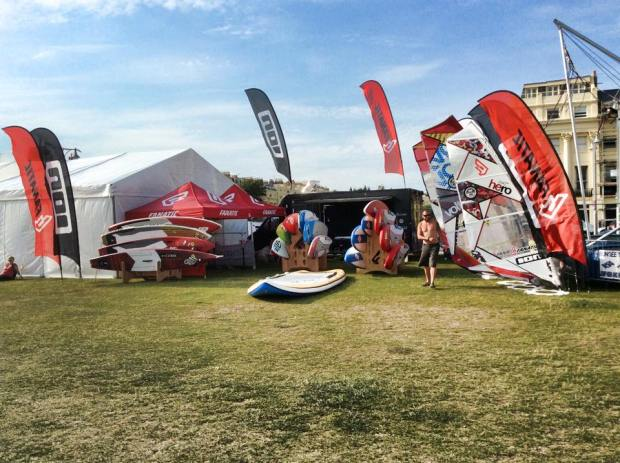 Fanatic SUP UK Paddle Round the Pier 2015