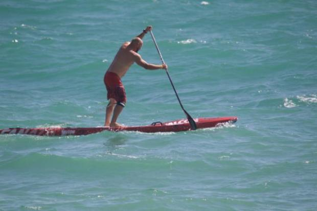 Phil Plume PAddle Round the Pier 2015