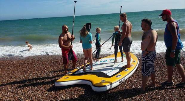 Fanatic Fly XL Paddle Round the PIer 2015