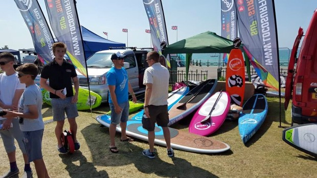 Loco SUP Paddle Round the Pier 2015 prt 2