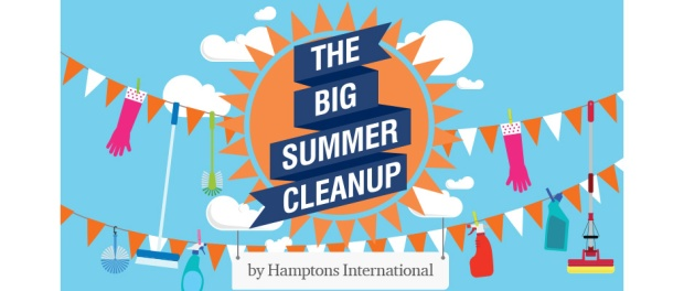Hamptons clean up