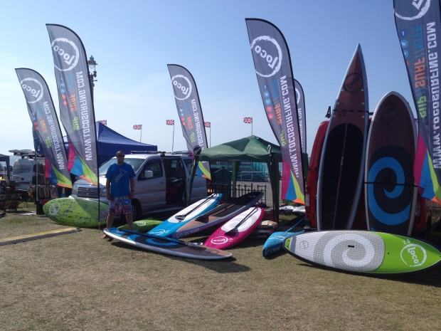 Loco SUP Paddle Round the Pier 2015