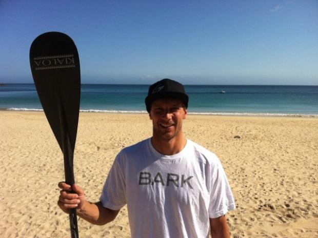 Ollie Shilston rides Kialoa Paddles
