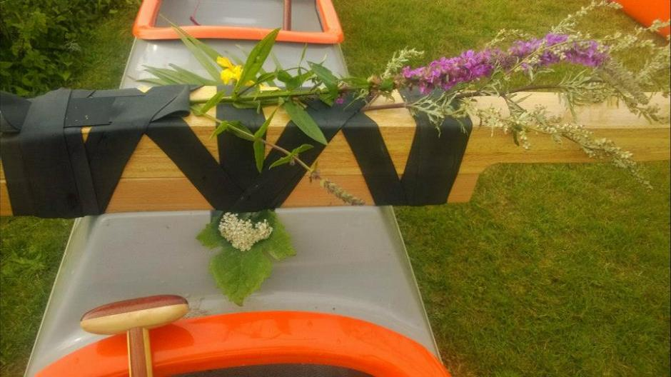 Bournemouth Outrigger Canoe ceremony