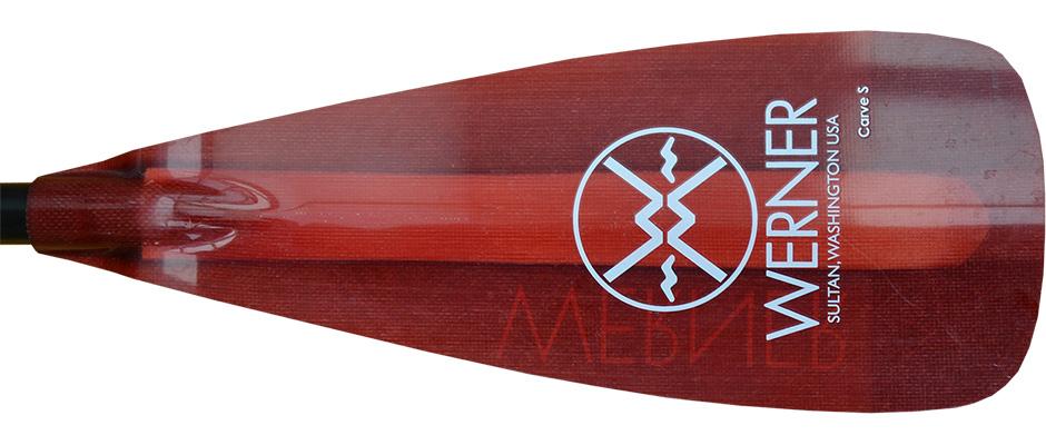 Werner Carve S paddle