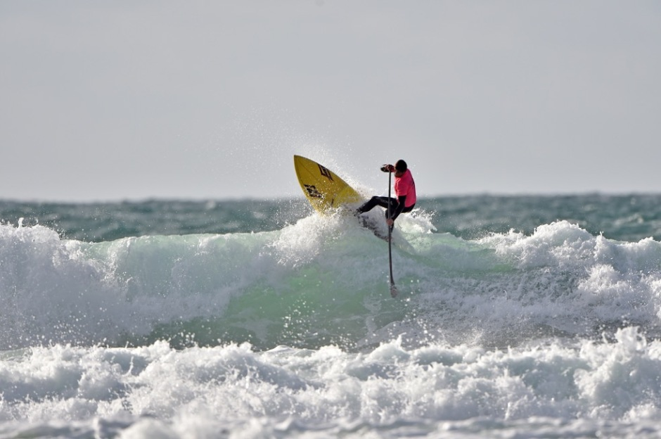 Watergate Bay SUP surfing champs 2015
