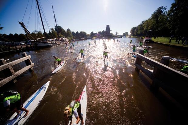 11 cities SUP race