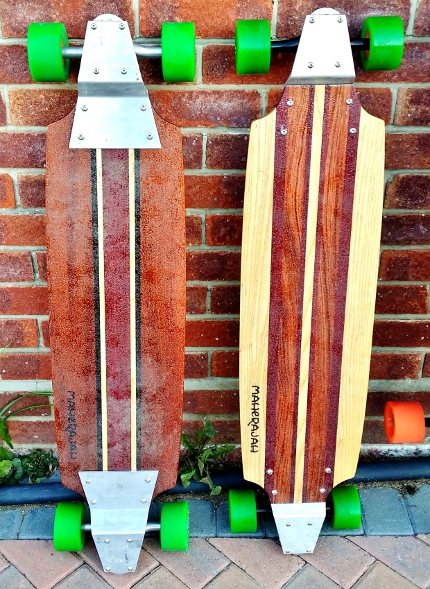 MAH single and double drop carver land paddle boards