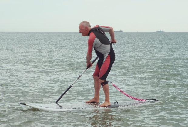 Stan Wheeler SUP s Hayling Island