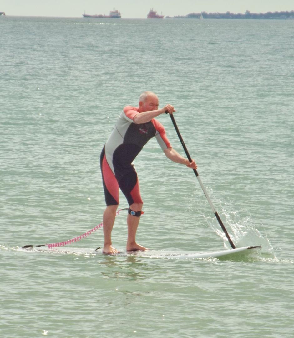 Stan Hayling Island SUP