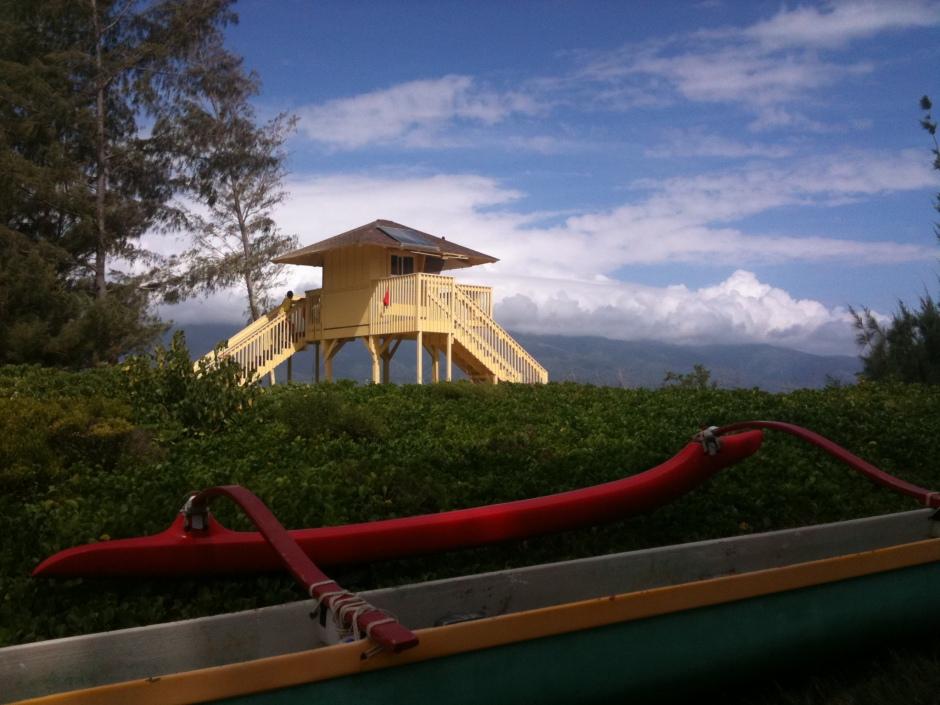 Maui lifeguard hut
