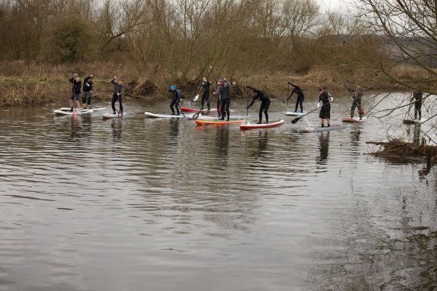 Central SUP paddling