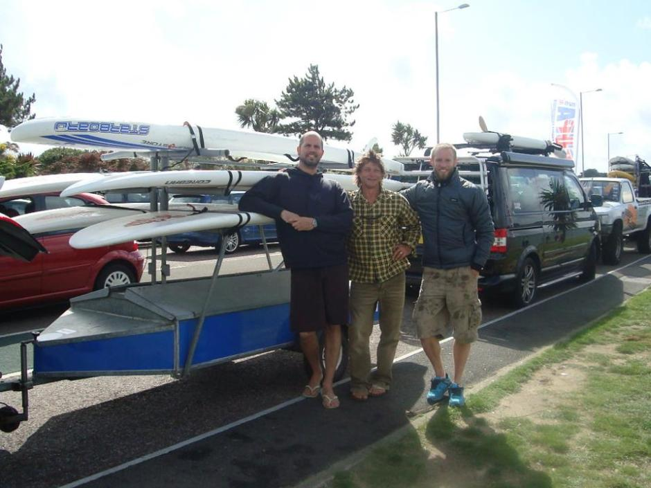 Steve West joins us for a paddle