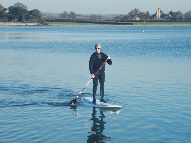 Tony Crook beginner SUP 1