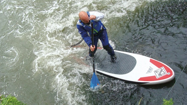 river sup with dave adams