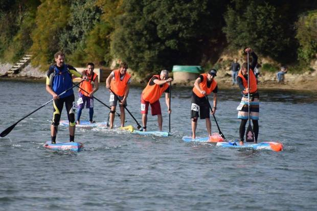 UK SUP racing