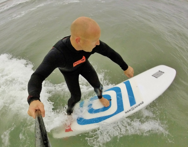 Nah Skwell Maxi G 7.6ft SUP Mag UK review #2