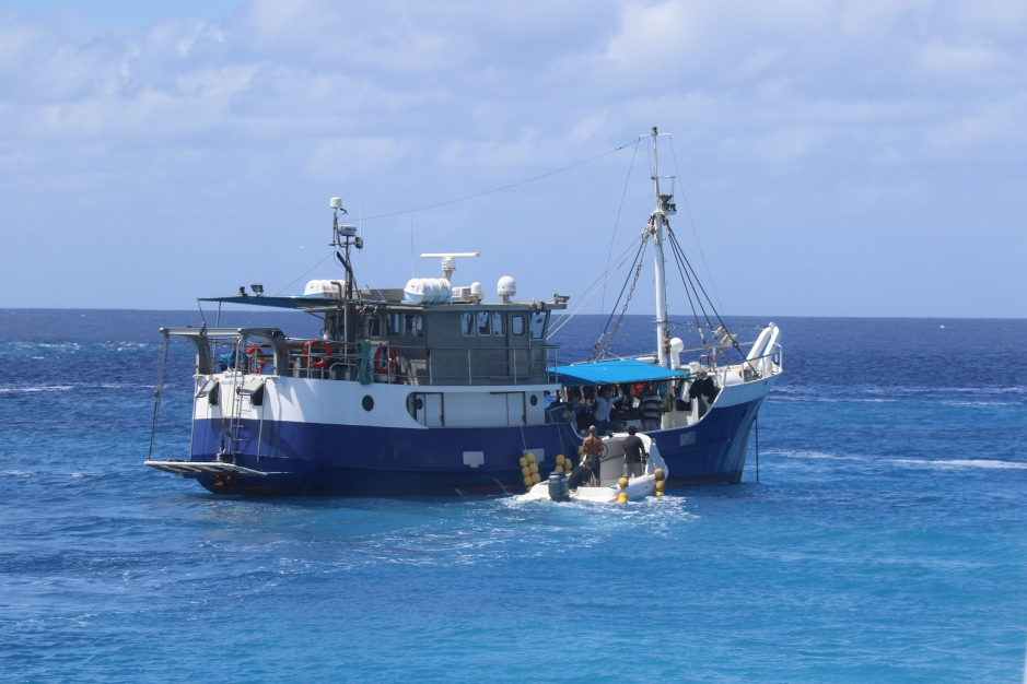 Marshall Islands boat trippin'