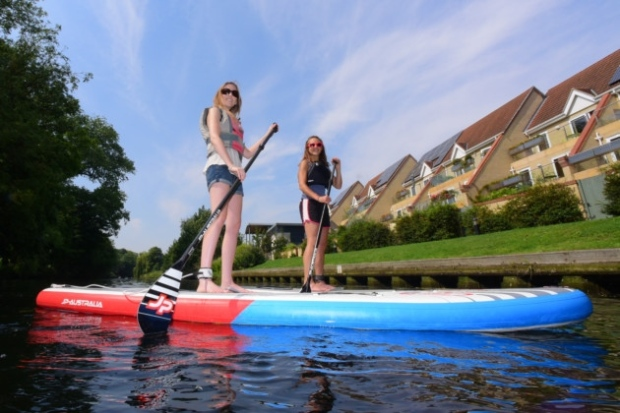 Norfolk Broads SUPing