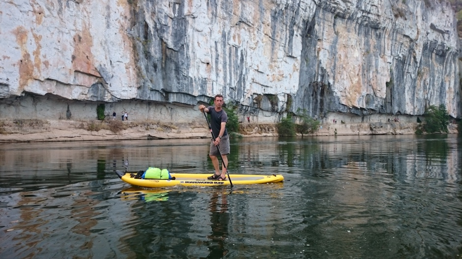 Stephen Hale French River Cele and Lot SUP