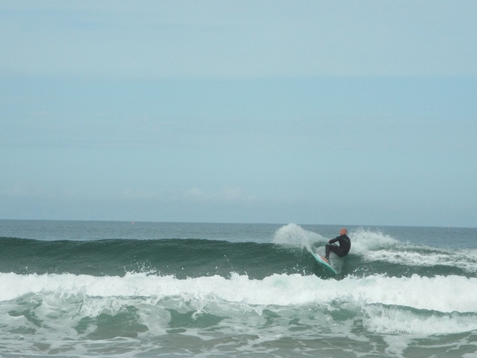 Gwithian SUP surfing