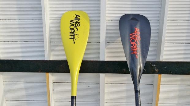 Ainsworth carbon AFT SUP paddles