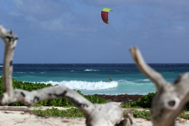 Long beach kitesurfing Lee Pasty Harvey