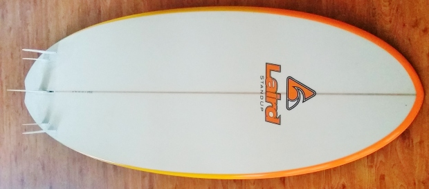 Laird StandUp Fire Fish 8ft SUP Mag UK