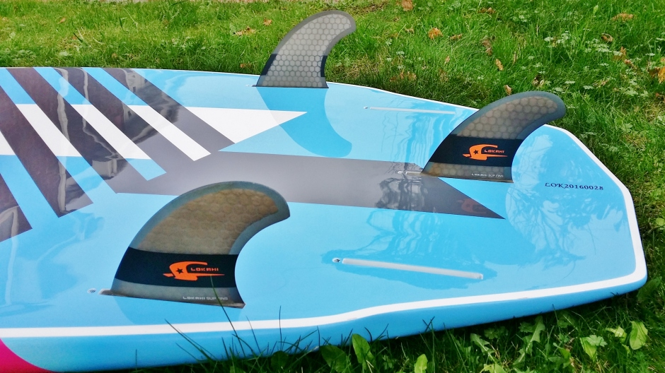 Lokahi Concept 7.9ft review fins