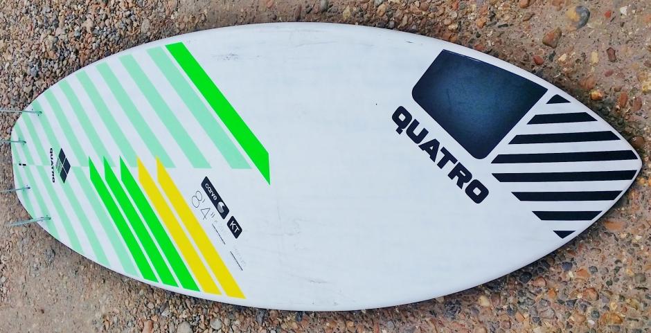 quatro Carve 8.4ft SUP surfboard SUP Mag UK test