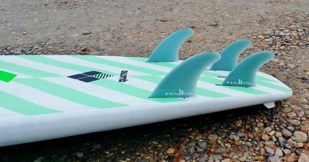 quatro Carve 8.4ft quad fins