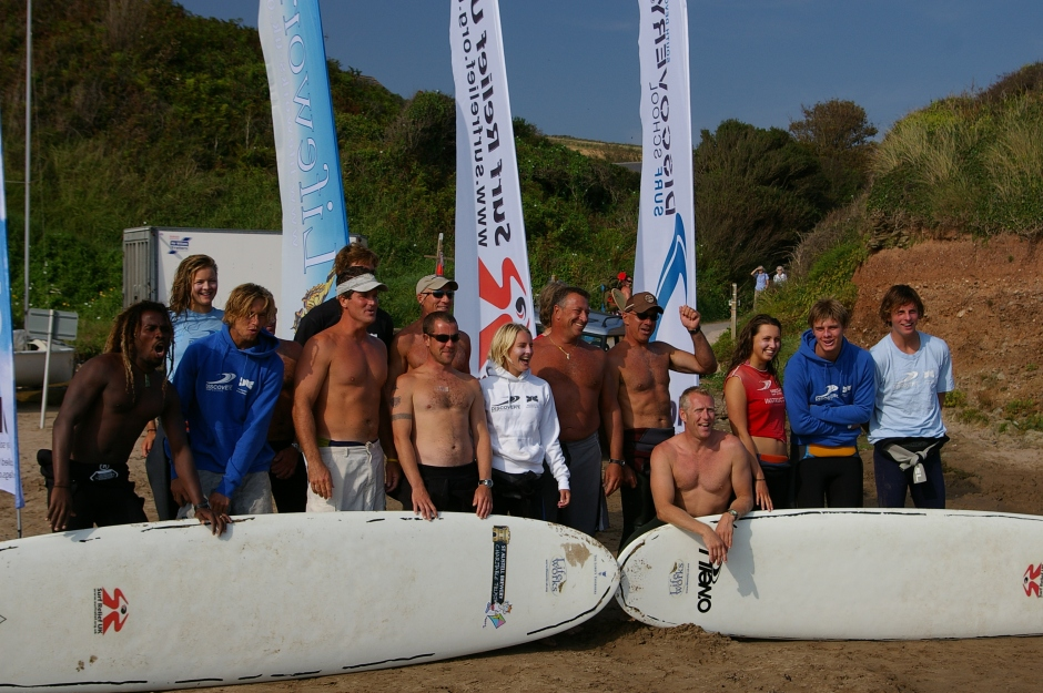 Surf Steps team Aug 2007