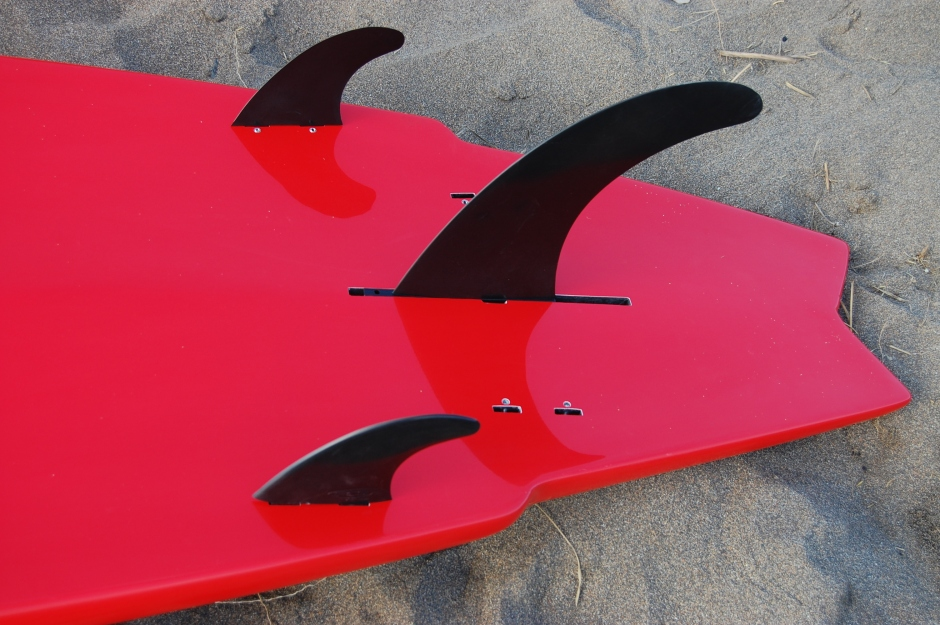 Hatha Warrior 10.6ft fin configuration SUP Mag UK review