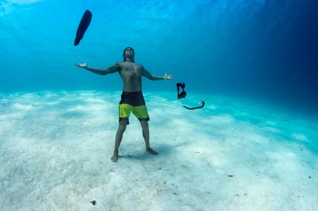 Suunto photoshooting at Ayada Resort, Maldives on 9th February, 2015.