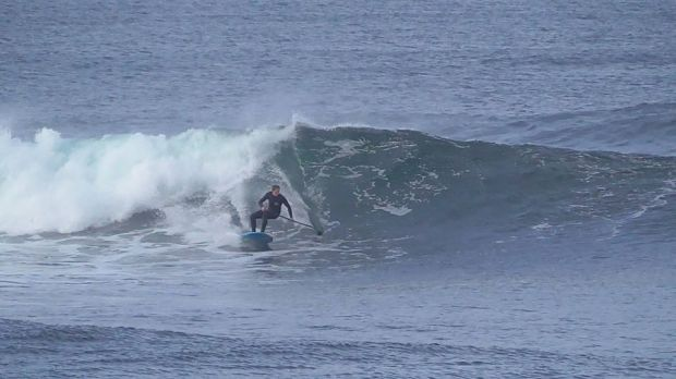 Scott Warren Ireland SUP surfing
