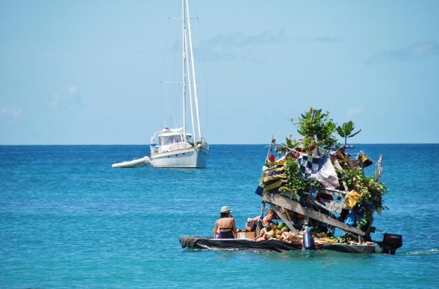 Rodney Bay fruit boat, St Lucia