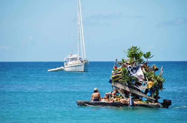 Rodney Bay fruit boat, St Lucia