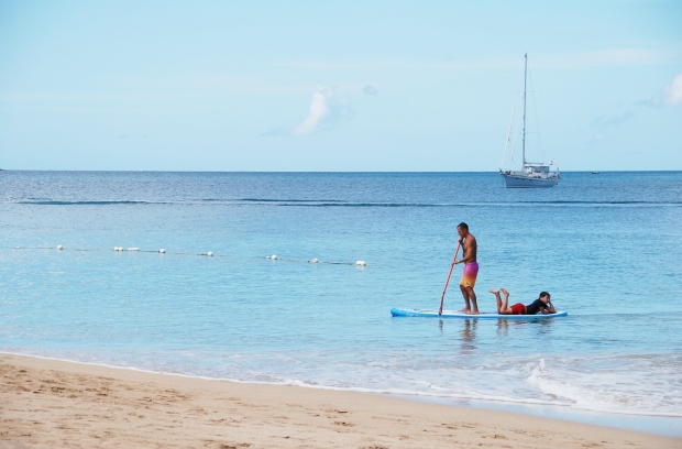Rodney Bay SUP, St Lucia, Caribbean