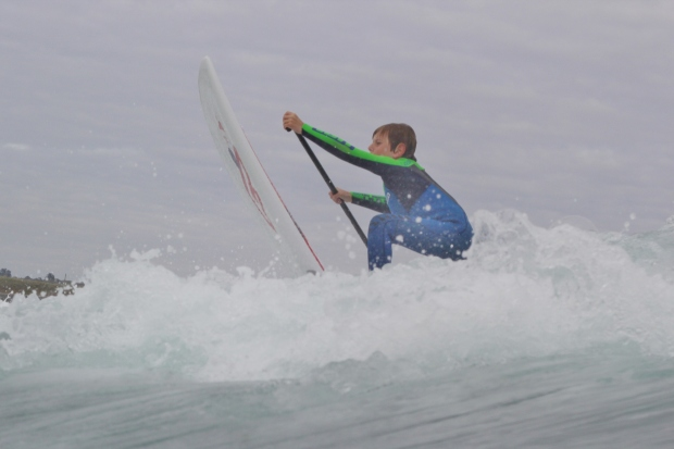 Toby Axford paddle out #2