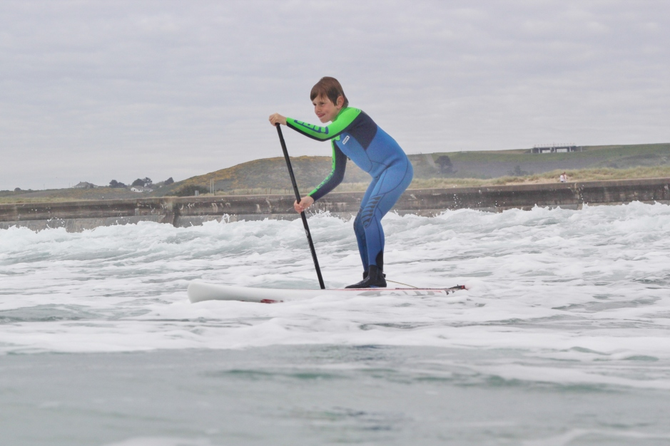 Toby Axford paddle out #3