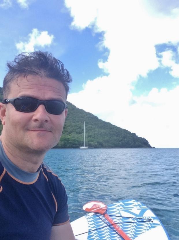 Rodney Bay paddle boarding, St Lucia