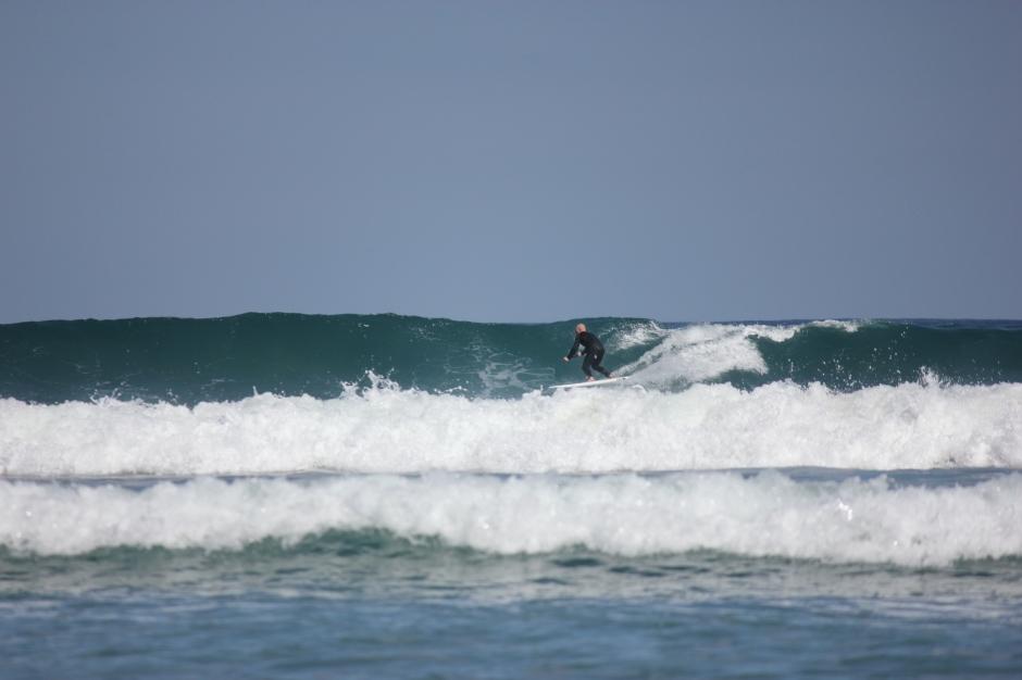 SUP surfing Lanzarote
