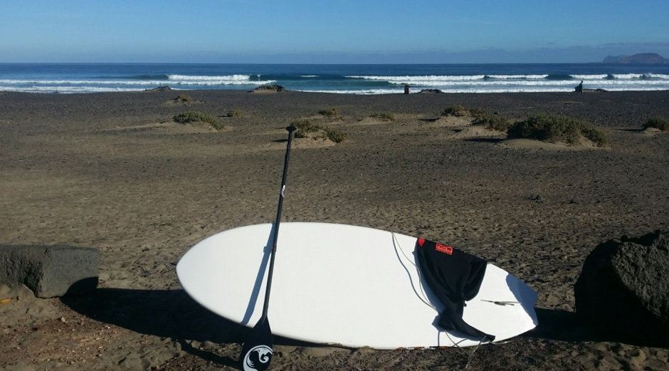 Travelling with SUP kit