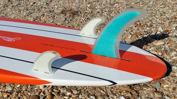 Freshwater Bay Paddleboard Co Classic fin configuration